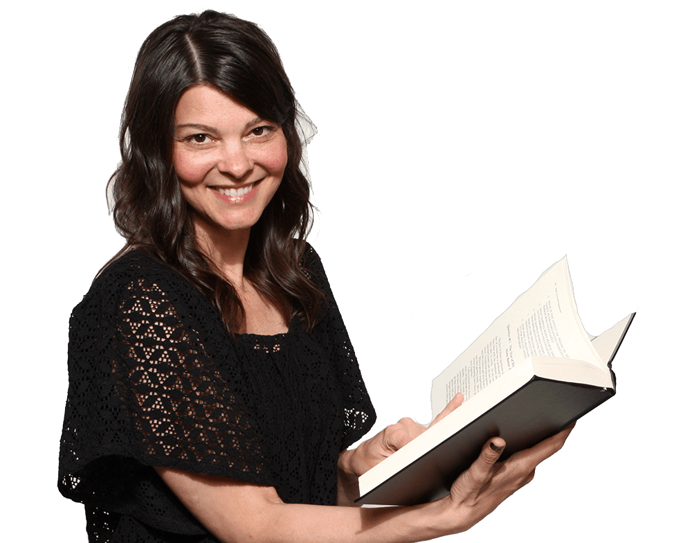 lynn-reading The Gift